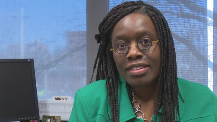 University of Windsor law professor Laverne Jacobs is organizing a series of public discussions about the barriers for disabled people. She hopes to bring those issues to light for the public. (Jason Viau/CBC)