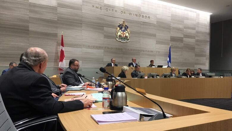 City of Windsor councillors declared a climate change emergency at Monday evening's council meeting, joining over 400 communities across Canada. (Katerina Georgieva/CBC)